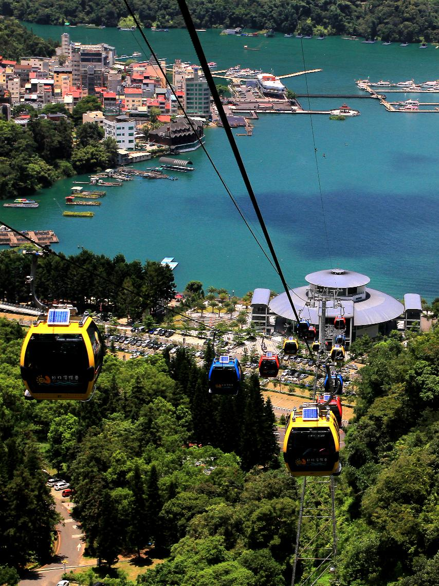 Sun Moon Lake Cable Car