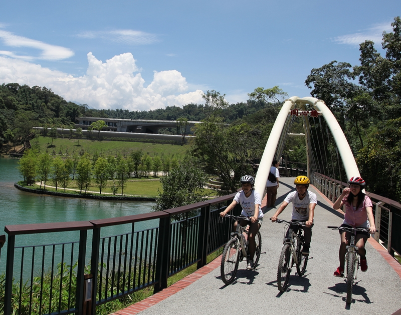 Sun Moon Lake Bikeway – Xiangshan Section