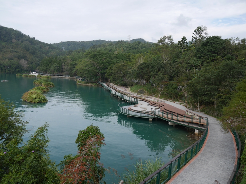 Sun Moon Lake Bikeway – Shuishe Section