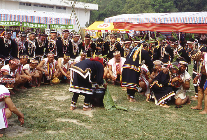 Bunun tribe's ear-shooting festival